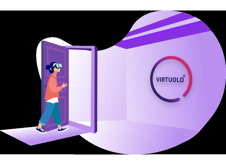 Kunden virtuelle Rundgänge anbieten. Tool für Makler Immobilien.