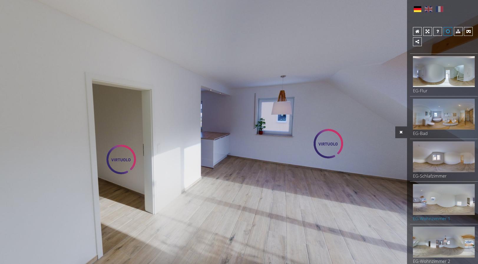 Corona: Immobilienrundgänge 360 Grad erstellen